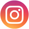 Instagram logo blue